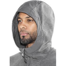 Columbia Tough Hiker Hooded Fleece Jacket Herren graphite/black